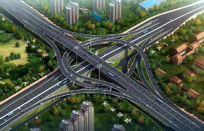 长沙万家丽路快速化改造北延线